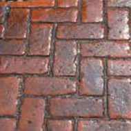 Old Brick Herringbone Mat - M10