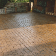 Residential Driveway - Cobble | Nut-brown | Charcoal