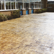 Welling School - Ashlar Stone | Deep Buff | Mahogany
